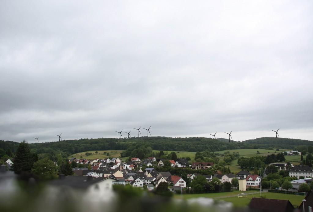 Darstellung Windpark Oberlahn